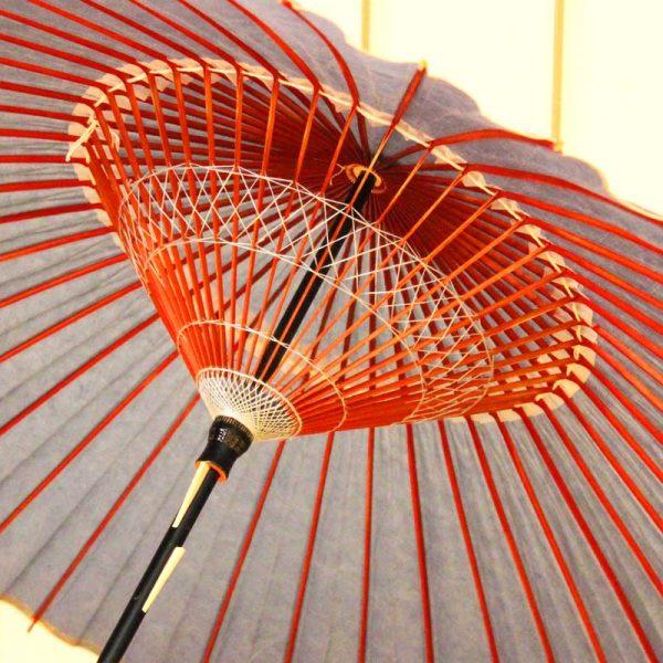 水色の和傘 水色の番傘
