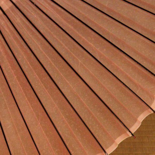 桜色の蛇の目傘