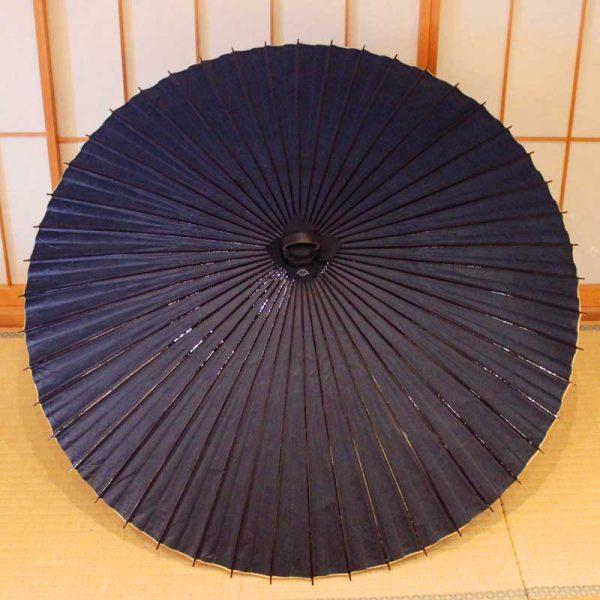 紫色の番傘(雨傘)