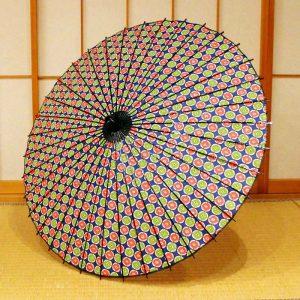 型染和紙の和日傘