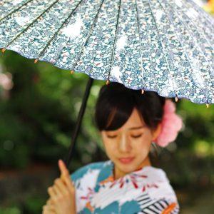 蔦もようの和傘