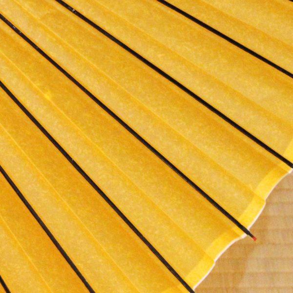 黄金色の蛇の目傘