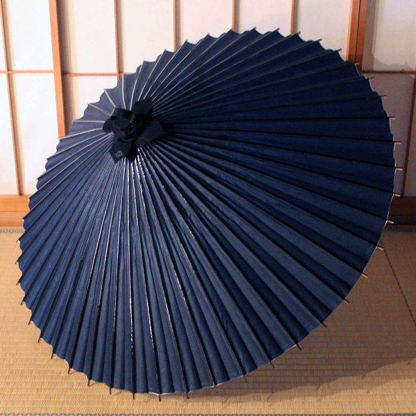 藍色の番傘