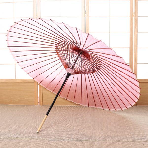 桃色の和傘