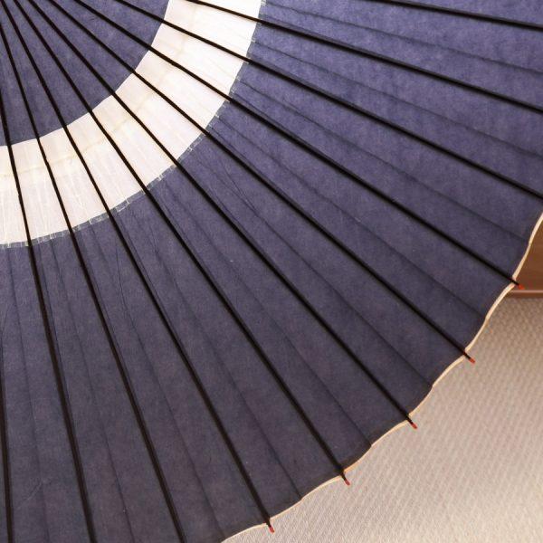 藍色の和傘