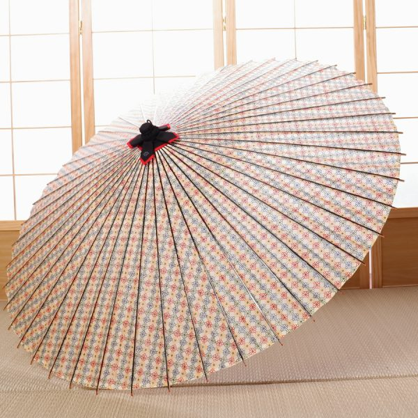 花模様の和傘