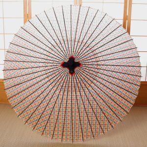 花模様の和傘です。