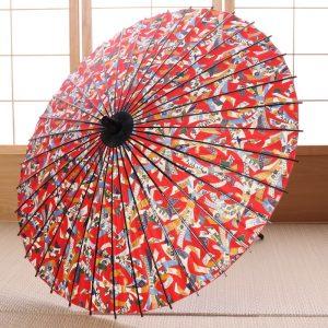 京友禅もようの和傘