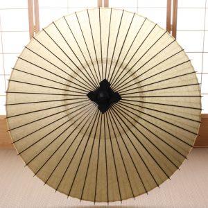 薄緑色の番傘です。
