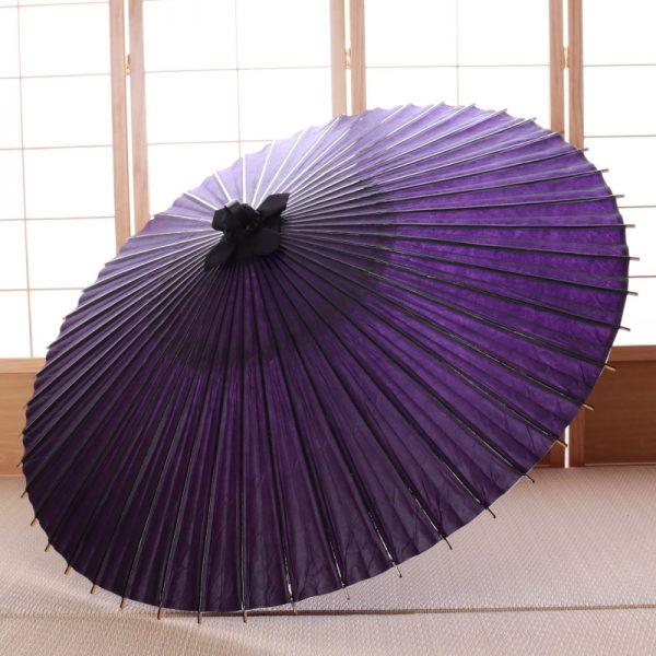 紫色の番傘