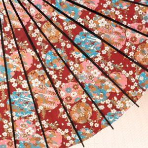 京友禅もようの和日傘