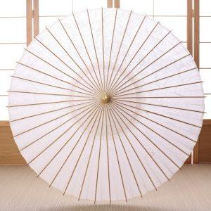 京都の黒谷和紙とのコラボレーションにより完成した極上の和日傘