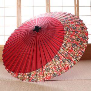 三日月模様の和傘