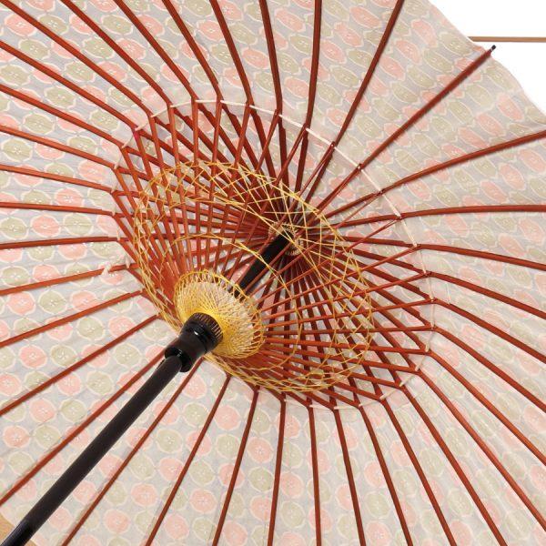 鈴の音もようの型染和紙の和日傘